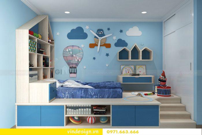 Thiết kế nội thất căn 01 tòa A1 chung cư gardenia 10