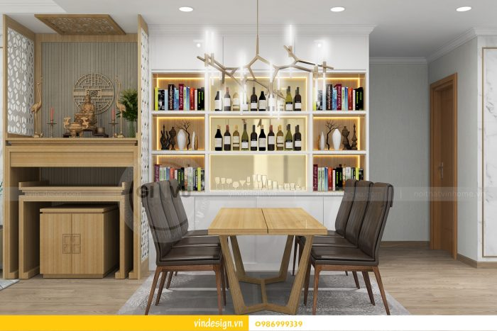 Thiết kế nội thất căn 02 tòa A1 chung cư Gardenia 3 ngủ 04