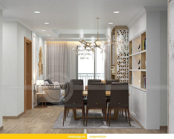 Thiết kế nội thất căn 02 tòa A1 chung cư Gardenia 3 ngủ 06