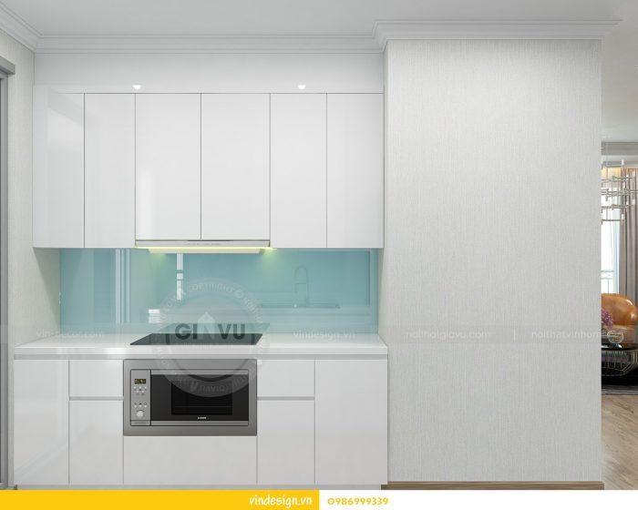 Thiết kế nội thất căn 02 tòa A1 chung cư Gardenia 3 ngủ 07