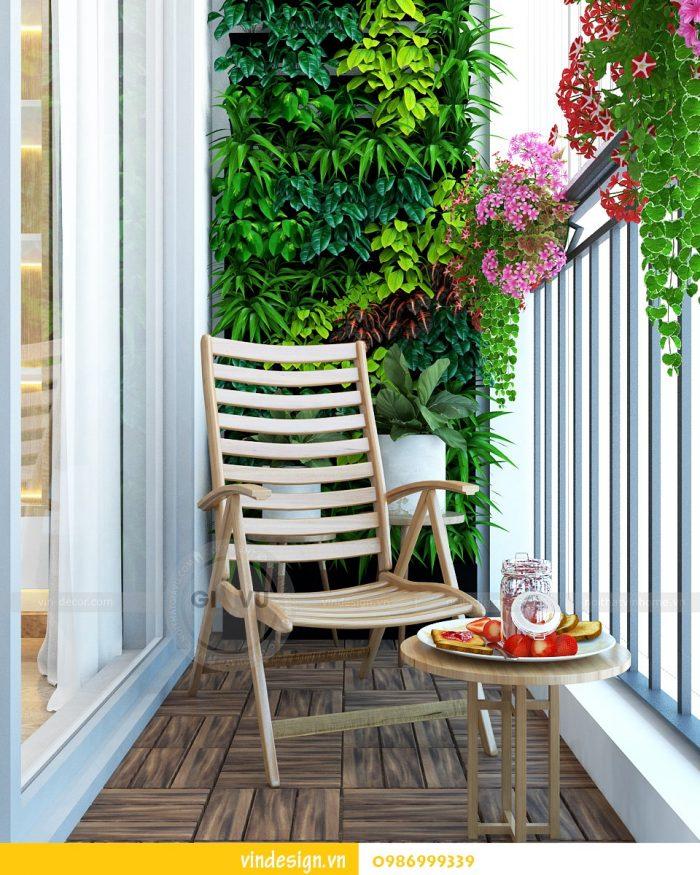 Thiết kế nội thất căn 02 tòa A1 chung cư Gardenia 3 ngủ 09