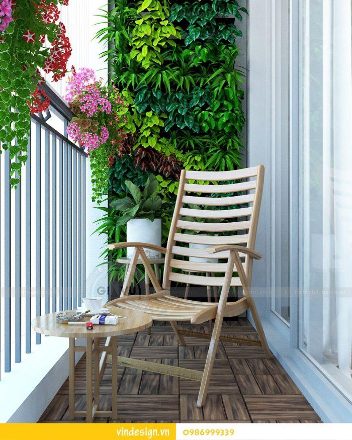 Thiết kế nội thất căn 02 tòa A1 chung cư Gardenia 3 ngủ 10
