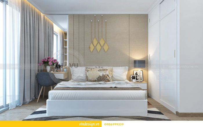 Thiết kế nội thất căn 02 tòa A1 chung cư Gardenia 3 ngủ 12