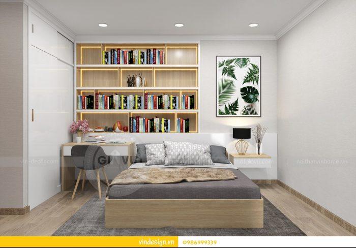 Thiết kế nội thất căn 02 tòa A1 chung cư Gardenia 3 ngủ 15