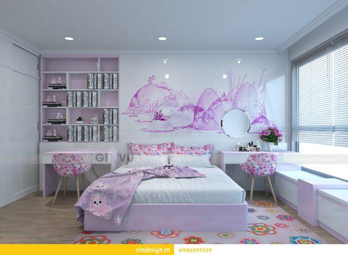 Thiết kế nội thất căn 02 tòa A1 chung cư Gardenia 3 ngủ 16