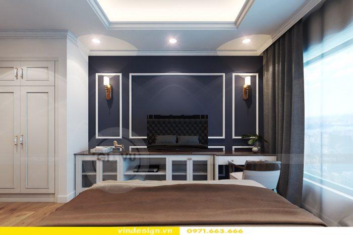 Thiết kế nội thất căn 06 tòa A2 theo phong cách tân cổ điển 09