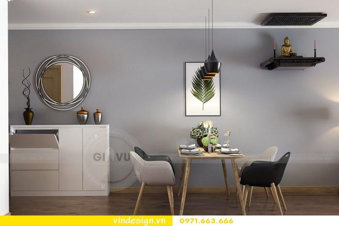thiết kế nội thất căn 08 tòa A2 chung cư gardenia 02