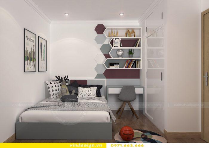 thiết kế nội thất căn 08 tòa A2 chung cư gardenia 09