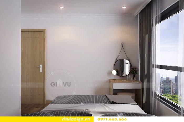 thiết kế nội thất căn 08 tòa A2 chung cư gardenia 07