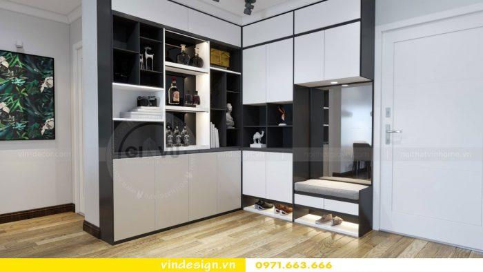 thiết kế nội thất căn 09 tòa A2 chung cư Gardenia 03