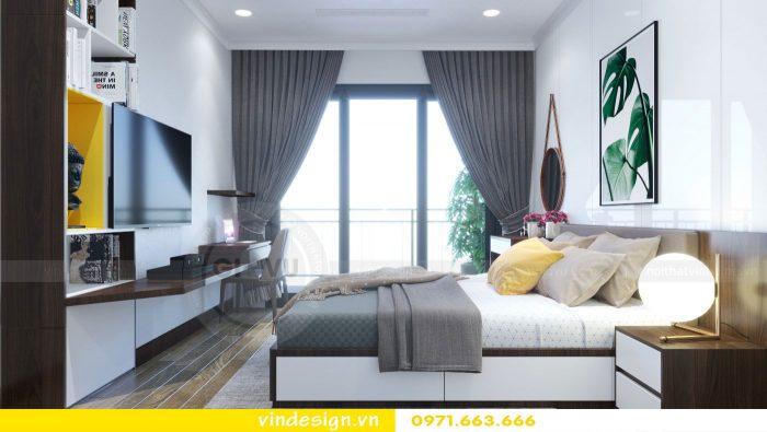 thiết kế nội thất căn 09 tòa A2 chung cư Gardenia 06