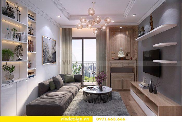 Thiết kế nội thất căn 10 tòa A1 chung cư gardenia 02