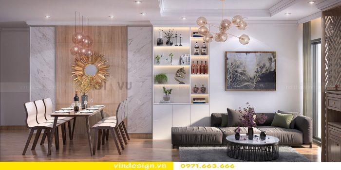 Thiết kế nội thất căn 10 tòa A1 chung cư gardenia 03
