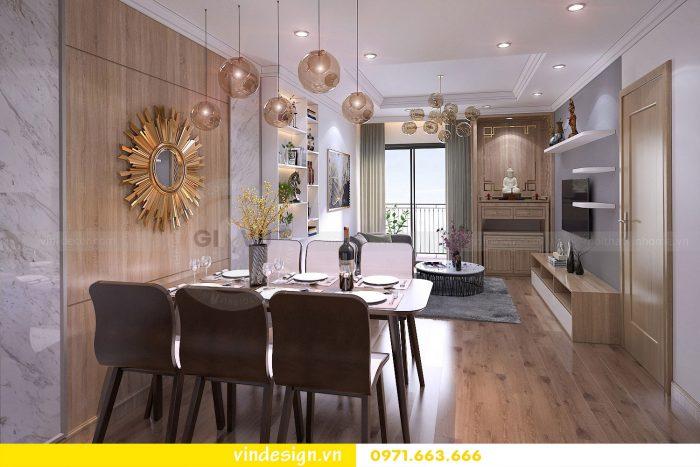 Thiết kế nội thất căn 10 tòa A1 chung cư gardenia 05