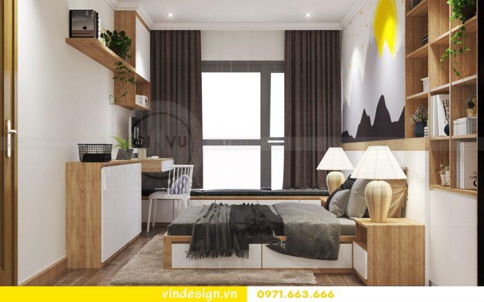 Thiết kế nội thất căn 10 tòa A1 chung cư gardenia 09