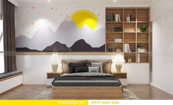 Thiết kế nội thất căn 10 tòa A1 chung cư gardenia 10