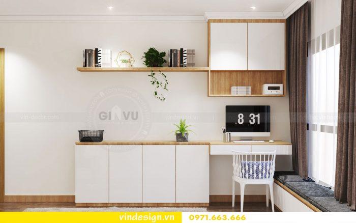 Thiết kế nội thất căn 10 tòa A1 chung cư gardenia 11