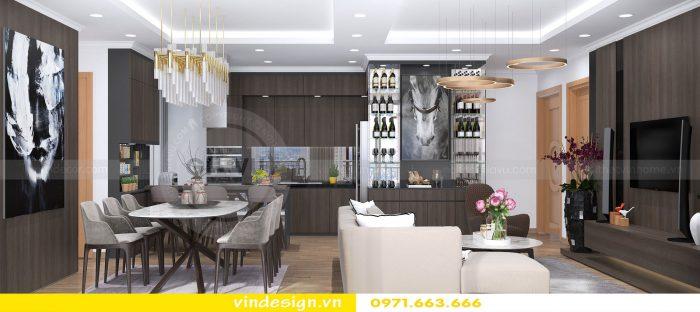 Thiết kế nội thất căn 10 tòa A2 chung cư gardenia 02