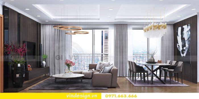 Thiết kế nội thất căn 10 tòa A2 chung cư gardenia 03