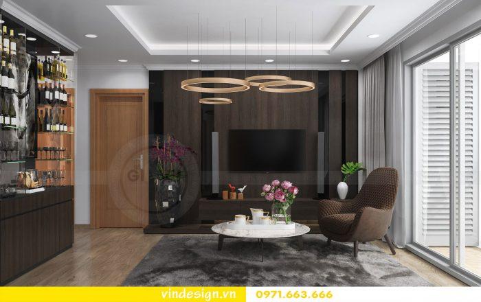 Thiết kế nội thất căn 10 tòa A2 chung cư gardenia 04