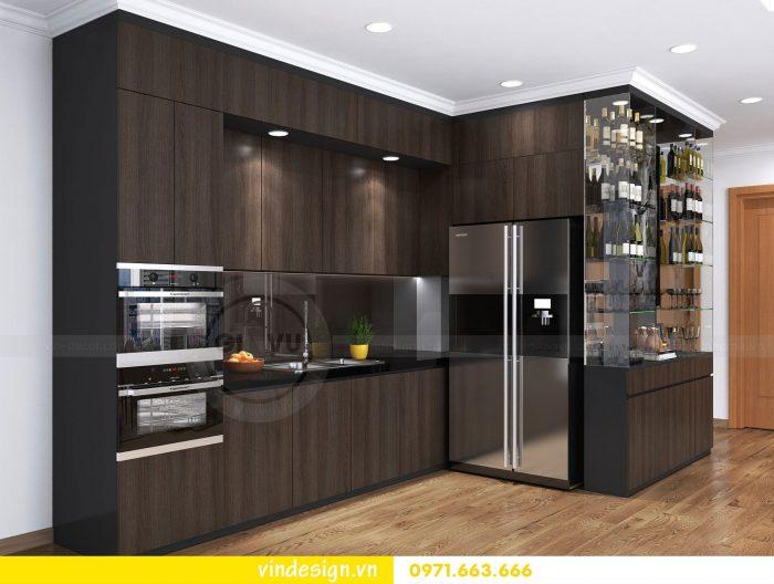Thiết kế nội thất căn 10 tòa A2 chung cư gardenia 06