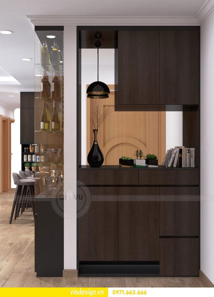Thiết kế nội thất căn 10 tòa A2 chung cư gardenia 07