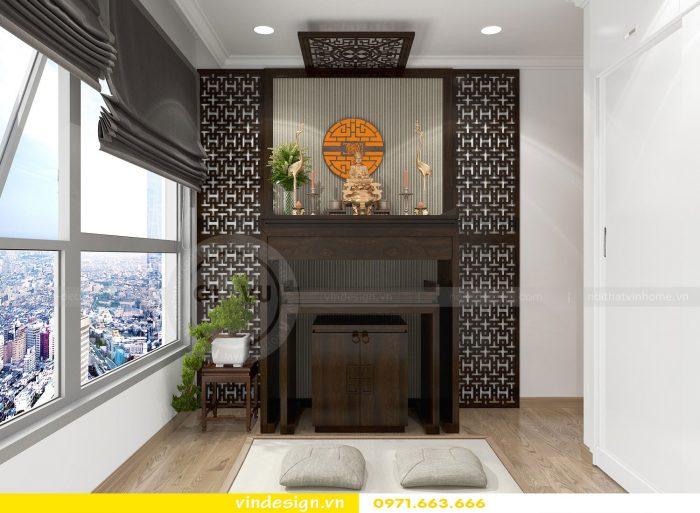 Thiết kế nội thất căn 10 tòa A2 chung cư gardenia 08