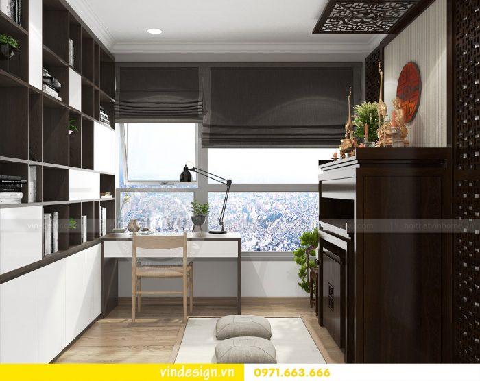 Thiết kế nội thất căn 10 tòa A2 chung cư gardenia 09