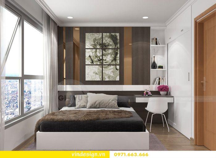 Thiết kế nội thất căn 10 tòa A2 chung cư gardenia 11