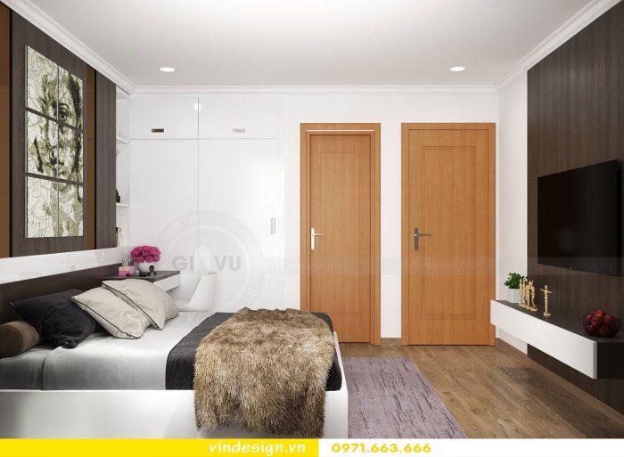 Thiết kế nội thất căn 10 tòa A2 chung cư gardenia 12