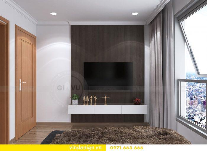 Thiết kế nội thất căn 10 tòa A2 chung cư gardenia 13
