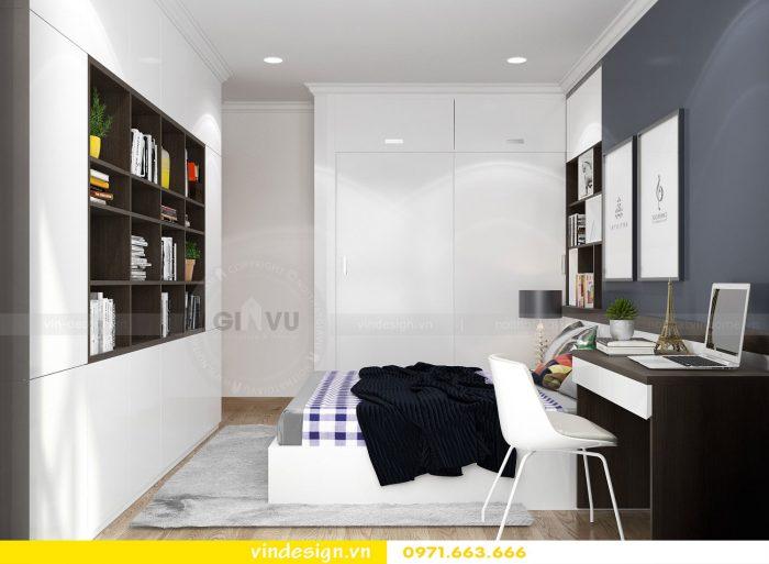 Thiết kế nội thất căn 10 tòa A2 chung cư gardenia 14