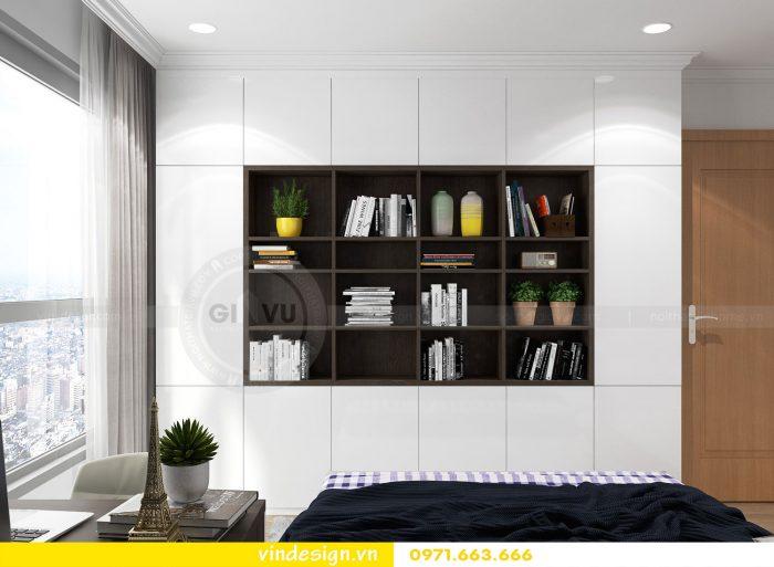 Thiết kế nội thất căn 10 tòa A2 chung cư gardenia 15