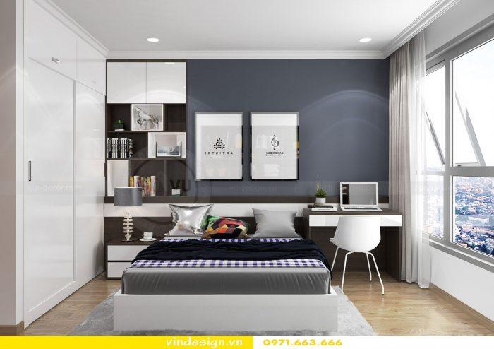 Thiết kế nội thất căn 10 tòa A2 chung cư gardenia 16