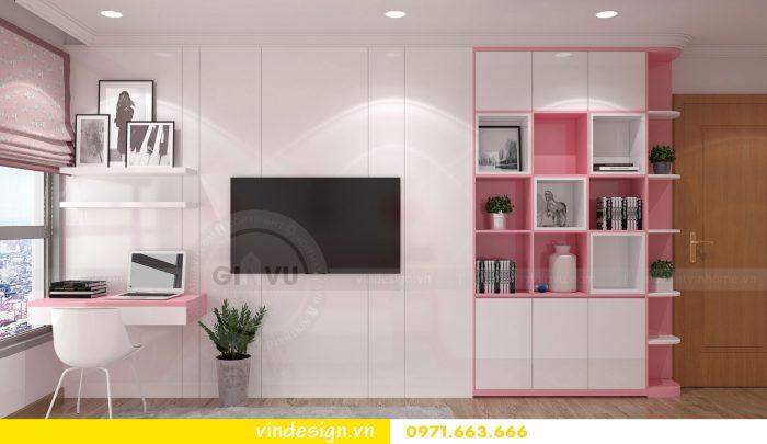 Thiết kế nội thất căn 10 tòa A2 chung cư gardenia 17