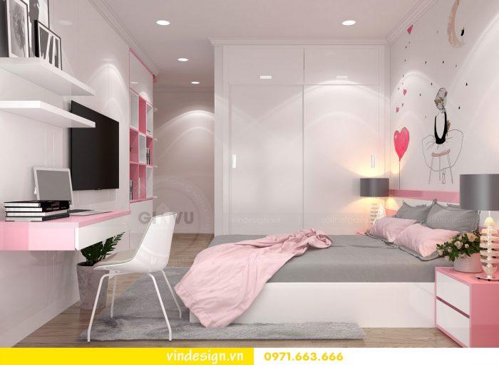 Thiết kế nội thất căn 10 tòa A2 chung cư gardenia 19