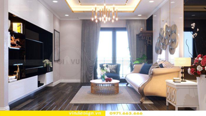 Thiết kế nội thất căn 11 tòa A2 chung cư Gardenia 02