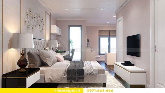 Thiết kế nội thất căn 11 tòa A2 chung cư Gardenia 09