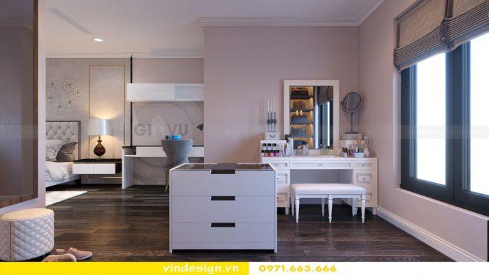 Thiết kế nội thất căn 11 tòa A2 chung cư Gardenia 10