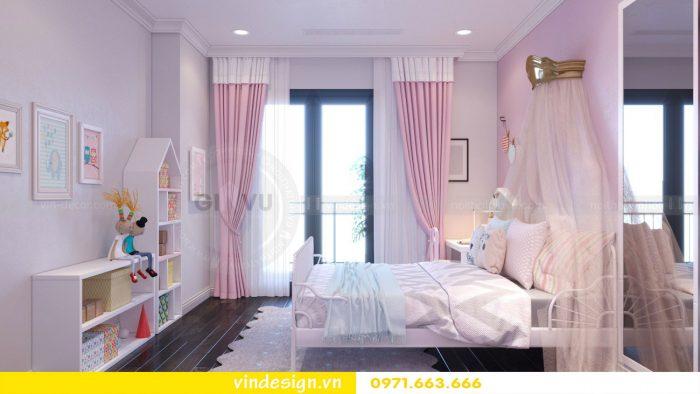 Thiết kế nội thất căn 11 tòa A2 chung cư Gardenia 13