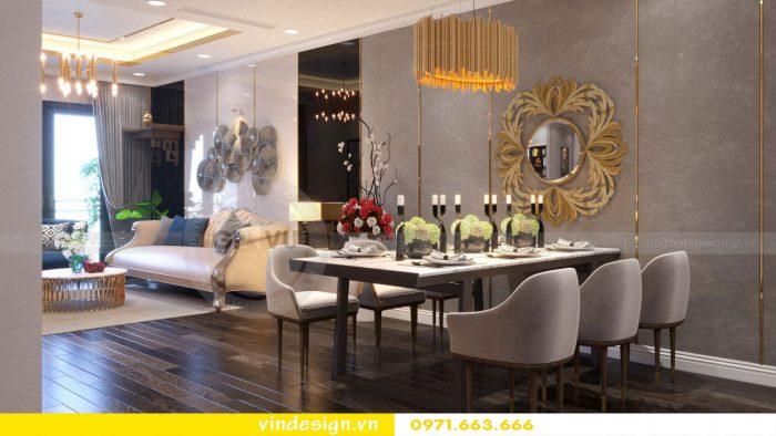 Thiết kế nội thất căn 11 tòa A2 chung cư Gardenia 03