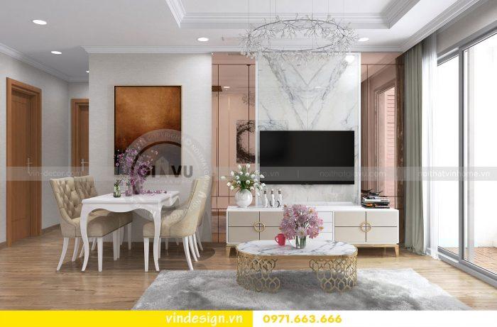 Thiết kế nội thất căn 12 tòa A2 chung cư gardenia 02
