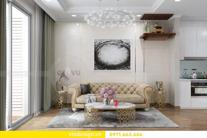 Thiết kế nội thất căn 12 tòa A2 chung cư gardenia 03