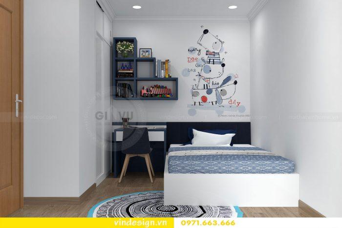 Thiết kế nội thất căn 12 tòa A2 chung cư gardenia 08