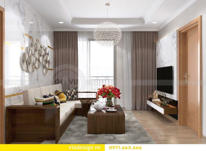 Thiết kế nội thất căn 12B tòa A2 chung cư Gardenia 01