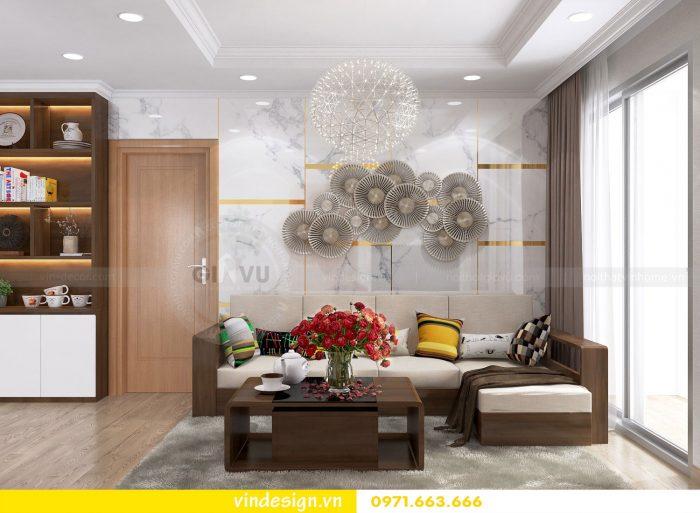 Thiết kế nội thất căn 12B tòa A2 chung cư Gardenia 02