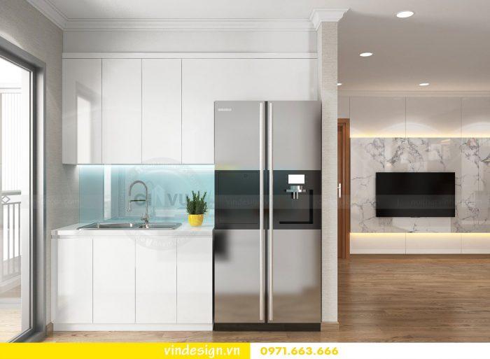 Thiết kế nội thất căn 12B tòa A2 chung cư Gardenia 07