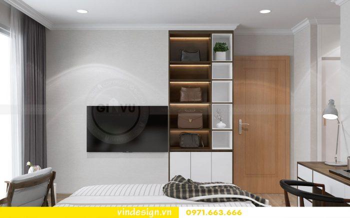 Thiết kế nội thất căn 12B tòa A2 chung cư Gardenia 10