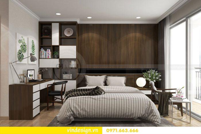 Thiết kế nội thất căn 12B tòa A2 chung cư Gardenia 11
