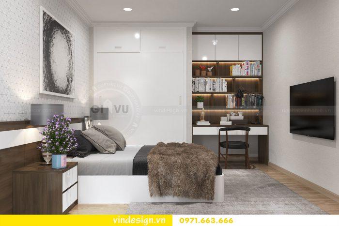 Thiết kế nội thất căn 12B tòa A2 chung cư Gardenia 12